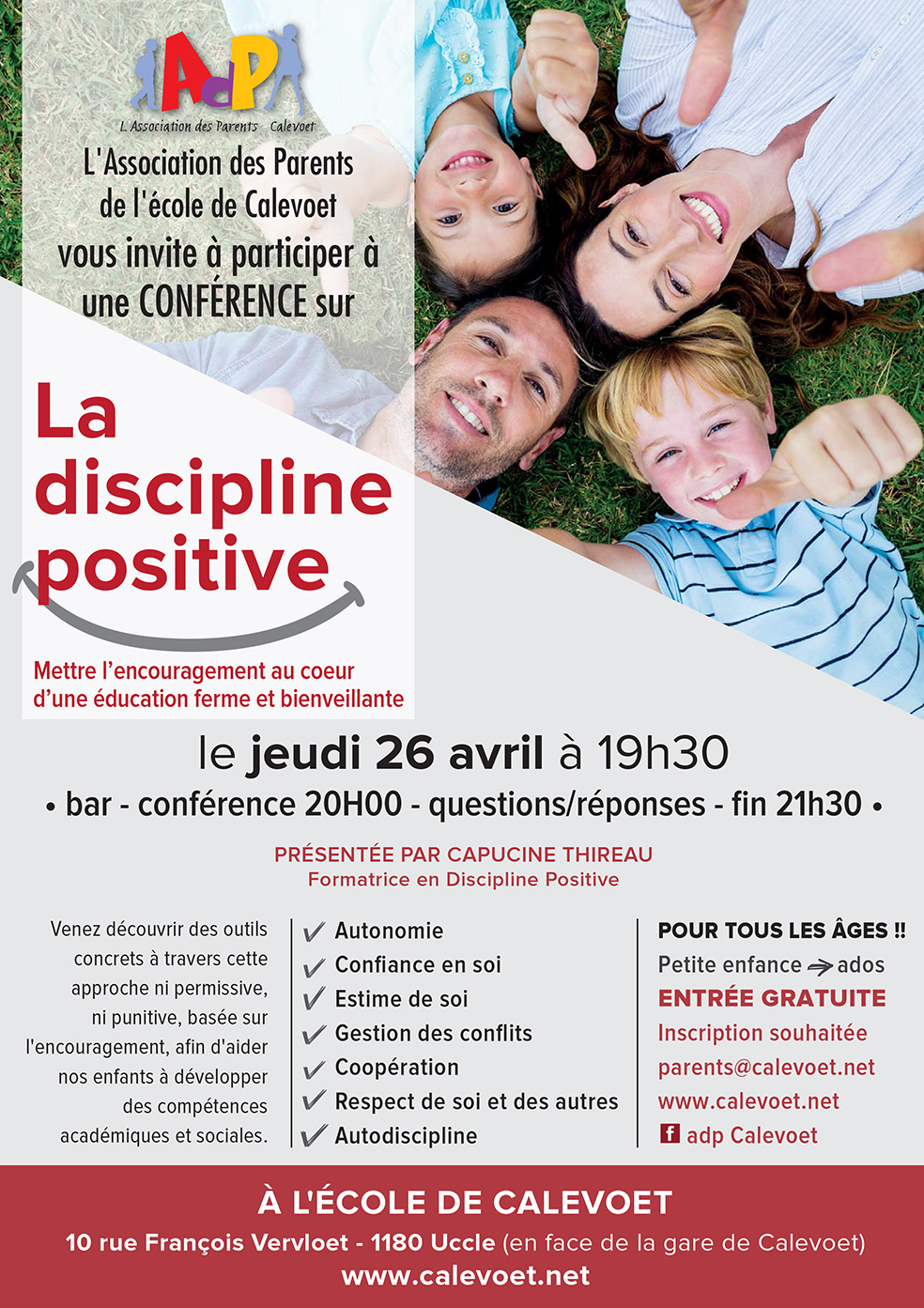 A4ConferenceDisciplinePositive